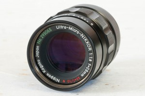 SOLD: Ultra-Micro-Nikkor 28mm lens SN295065 for bellows or Nikon Multiphot